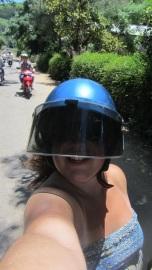 Helmet Selfies are the new thing.